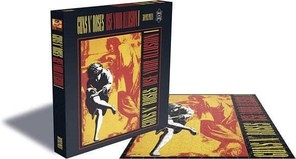 Plastic Head Music Distribution Guns 'N' Roses Use Your Illusion 1 Record Album Cover 500 Piece Jigsaw Puzzle