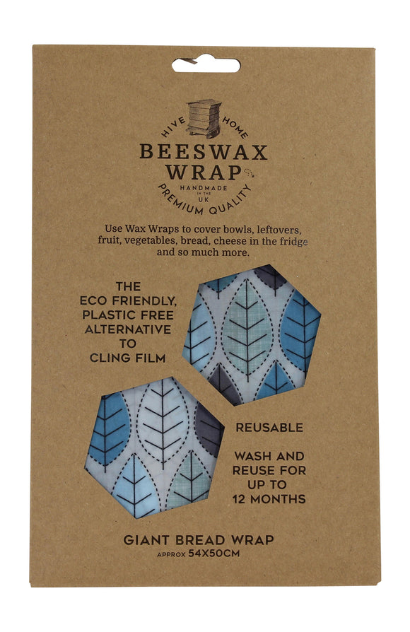 Hive To Home Eco Friendly Plastic Free Resuable Alternative To Cling Film Giant Bread Beeswax Wrap