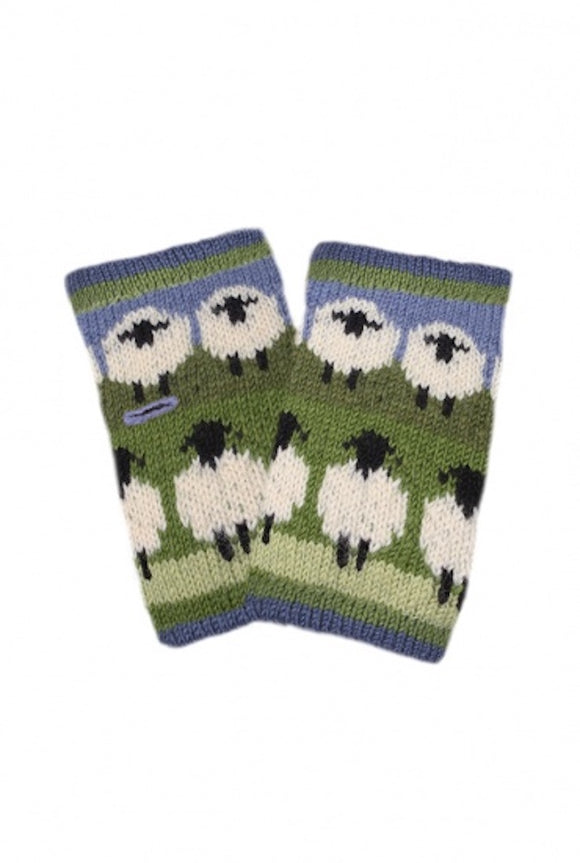 Sustainable Fair Trade Flock of Sheep Natural Wool Handwarmer