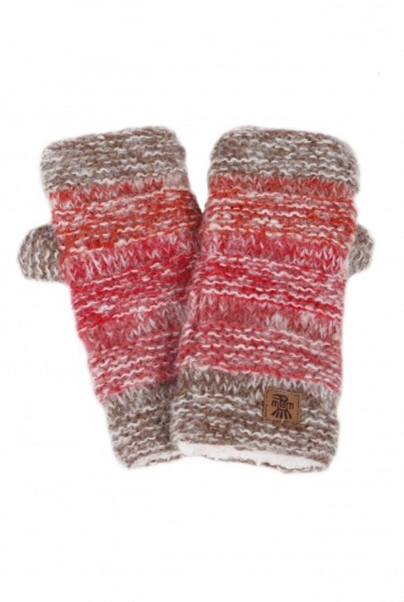 Sustainable Fair Trade Sierra Nevada Red Earth Natural Wool Handwarmers