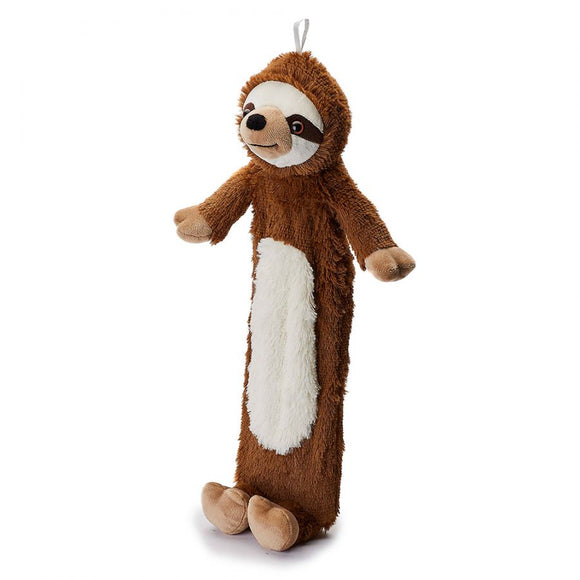 Super Soft Long Brown Sleepy Sloth Hot Water Bottle