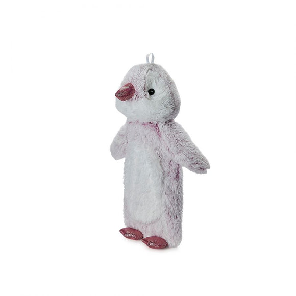 Super Soft Long Pink Marshmallow Penguin Hot Water Bottle