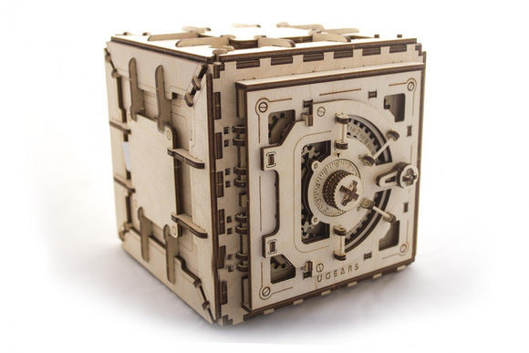 Ugears Combination Safe Wooden Model Construction Kit