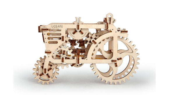 Ugears Mechanical Classic Tractor Wooden Model Construction Kit