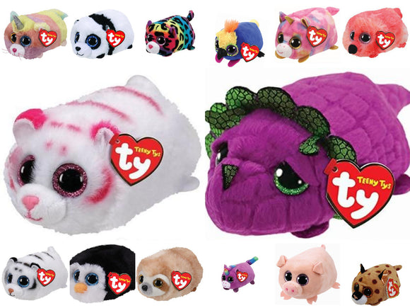 TY Official Teeny Ty Soft Toy - Choose Your Favourite - Lots Available