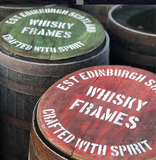 Whisky Barrel Painted Heads