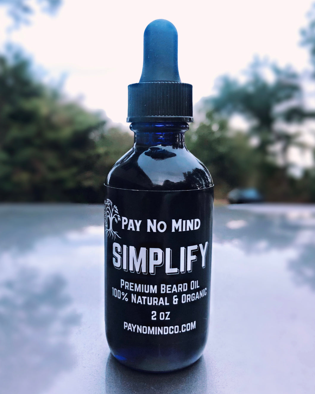 Simplify Premium Beard Oil Unscented