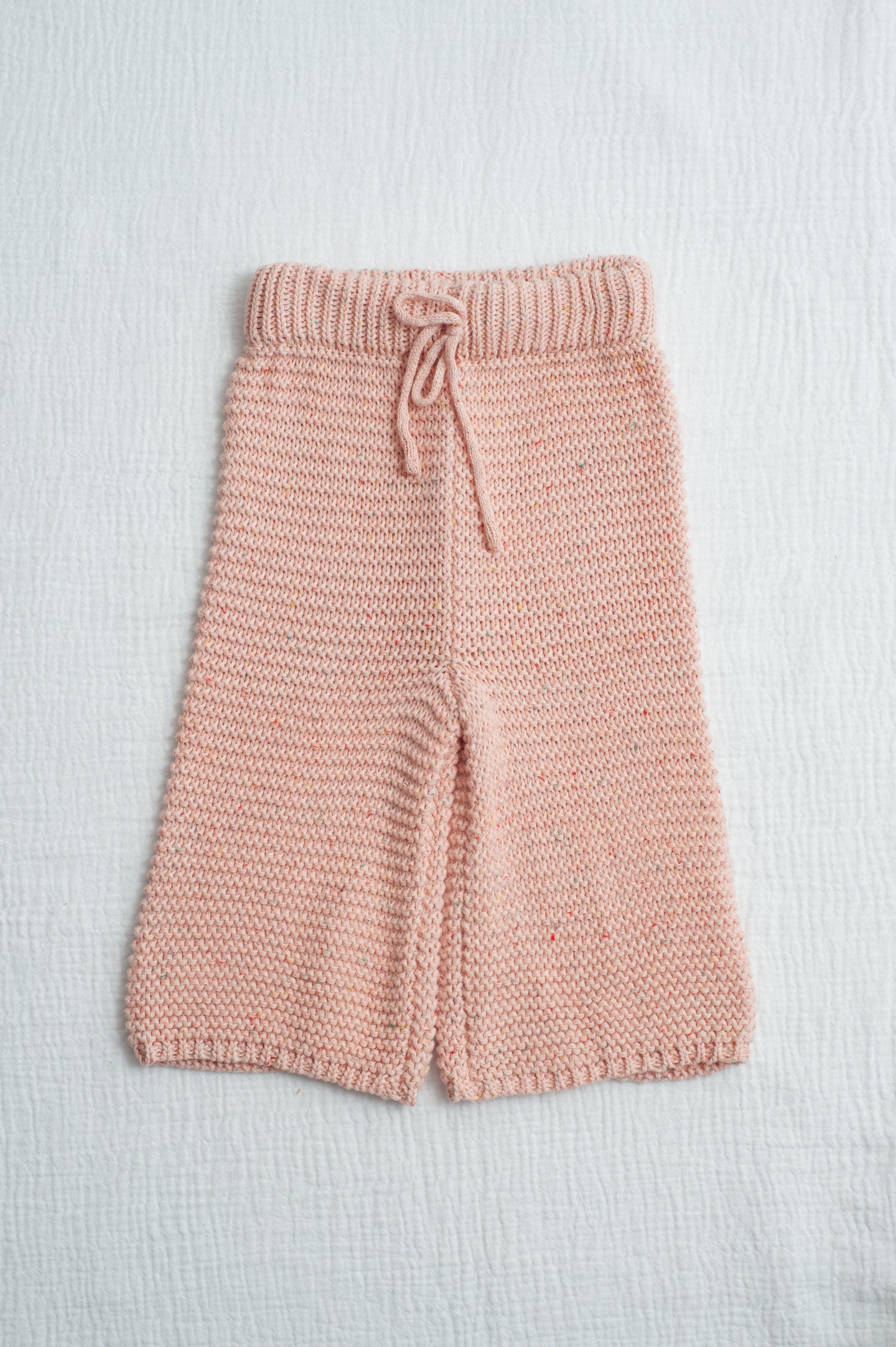 Chunky Knit Pant / pink sprinkles