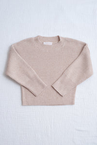 Mini Alex Knit Set / sand