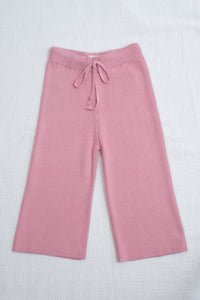 Mini Alex Knit Set / dusty pink