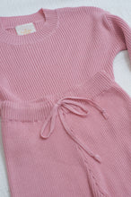 Load image into Gallery viewer, Mini Alex Knit Set / dusty pink