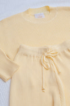 Load image into Gallery viewer, Mini Alex Knit Set / lemon