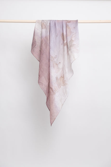 Silk & Wool Square Scarf