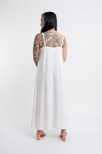Tallulah Dress / chalk