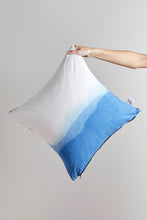 Load image into Gallery viewer, Natural Dyescape Pillow / sea