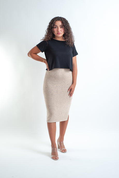 Dusty Knit Skirt