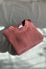 Load image into Gallery viewer, Chunky Knit Pullover / mulberry