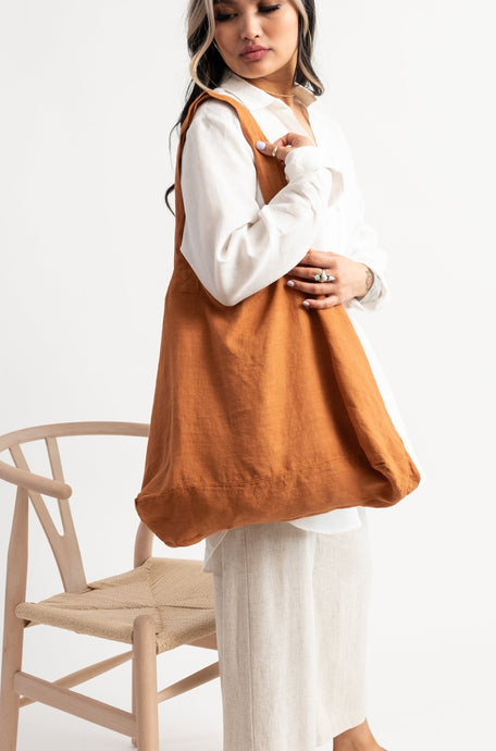 The Lua tote / caramel