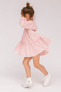 Mini Avalon Smock Dress / candy gingham