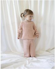 Load image into Gallery viewer, Chunky Knit Pant / pink sprinkles