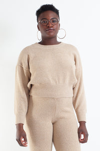 Whitewash Knit Jumper