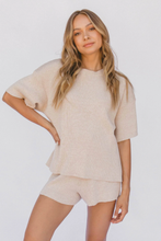 Load image into Gallery viewer, Alex Knit Tee / sand
