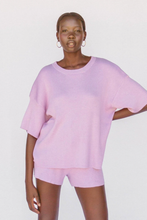 Load image into Gallery viewer, Alex Knit Shorts / periwinkle