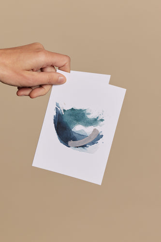 Greeting Card / Swell