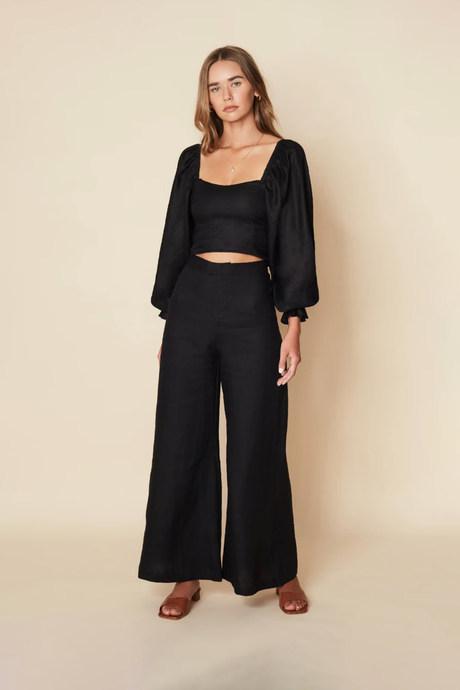 Duda Pants / black