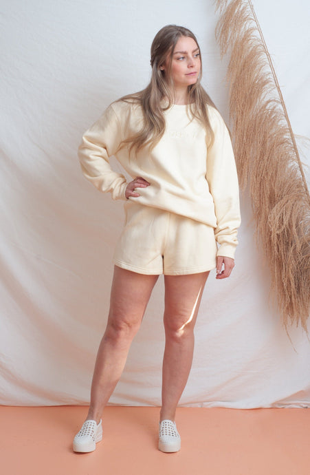 Classic Fleece Short / cream