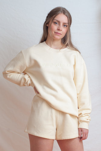 Signature Jumper / cream