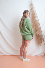 Load image into Gallery viewer, Classic Fleece Short / tallow green