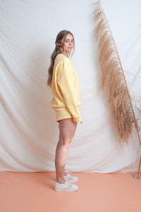 Classic Fleece Short / lemon
