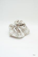 Load image into Gallery viewer, Linen Scrunchies / extra large