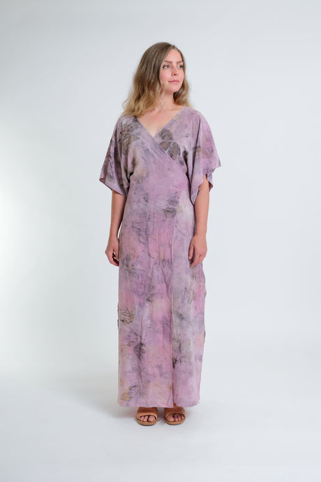 Antheia Silk Wrap Dress & Duster