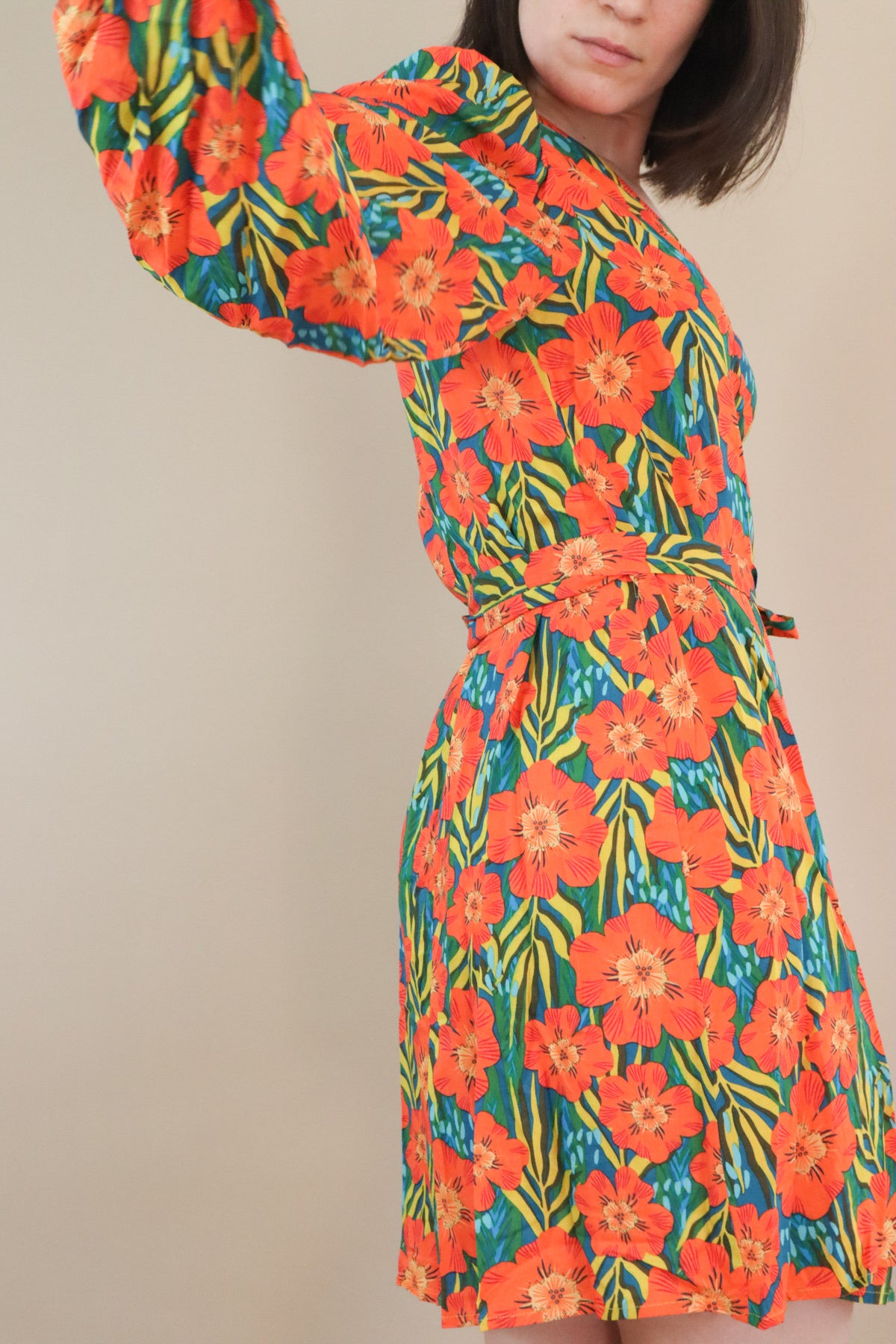 Mutiny Dress - Orange