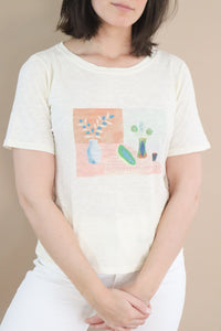 Still Life T-shirt – White