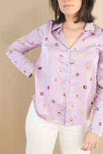 Load image into Gallery viewer, Swedish Dots Shirt – Purple