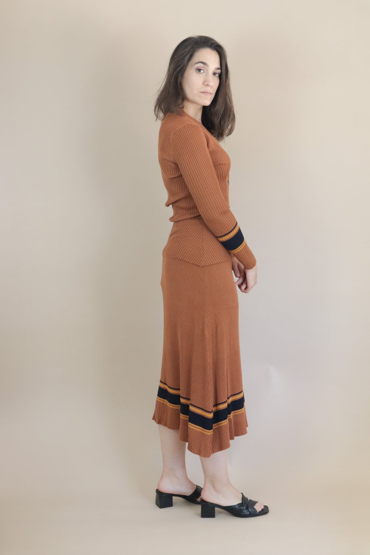 Vindis Skirt - Pumpkin Spice