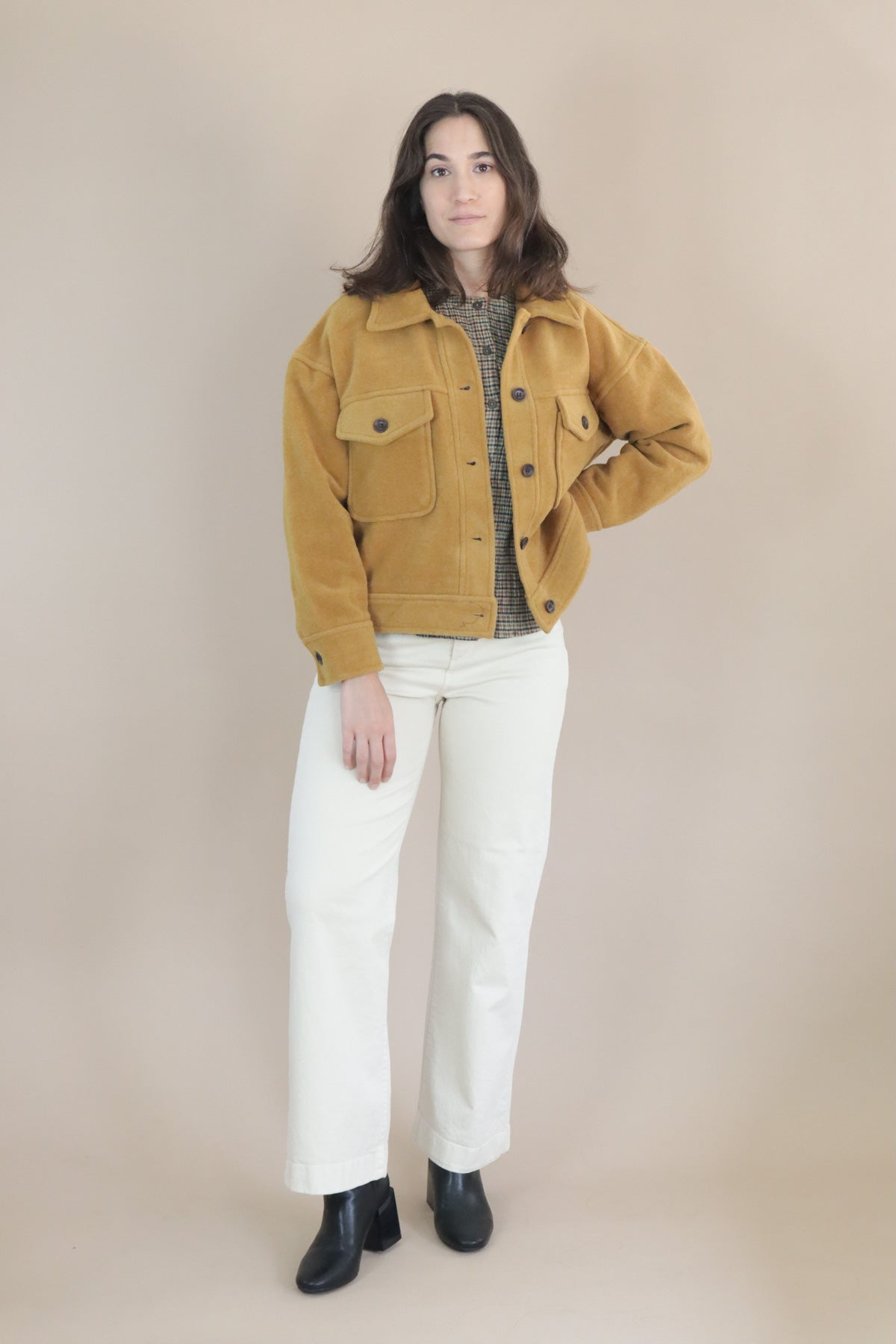Oversized Jacket - Ochre