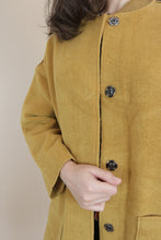 Load image into Gallery viewer, Woollen Bomber Jacket - Ochre
