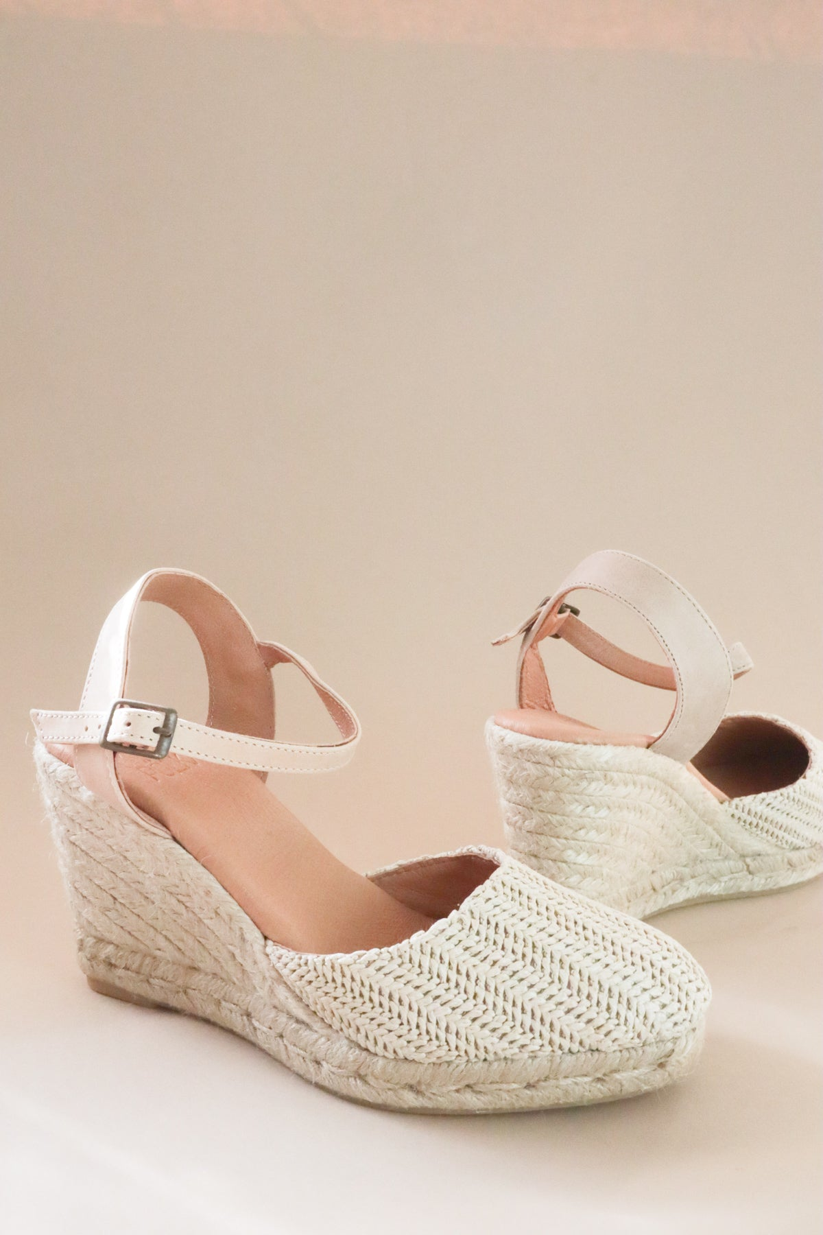 Laia Espadrille Wedge Sandal - Natural