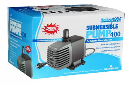 Active Aqua Submersible Water Pump, 400 GPH