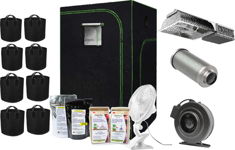 315WATT CMH 2X4X6 GROW KIT With Blade Filters Carbon FIlter & Kootenay Bio Soils