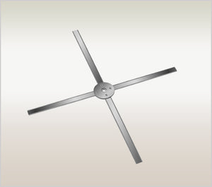 Cross Blade for Silicon Bowl Trimmer