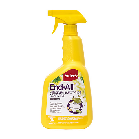 Safers End All Miticide/Insecticide - 1L