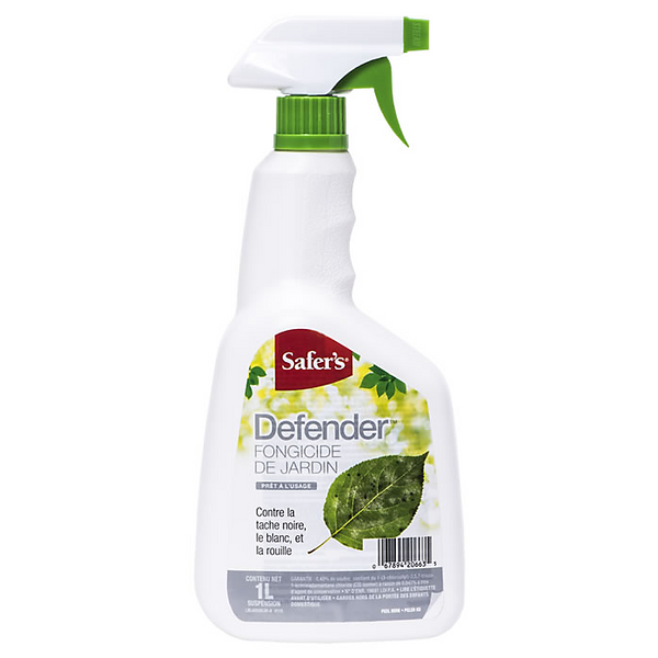 Safers Defender Garden Fungicide RTU - 1L