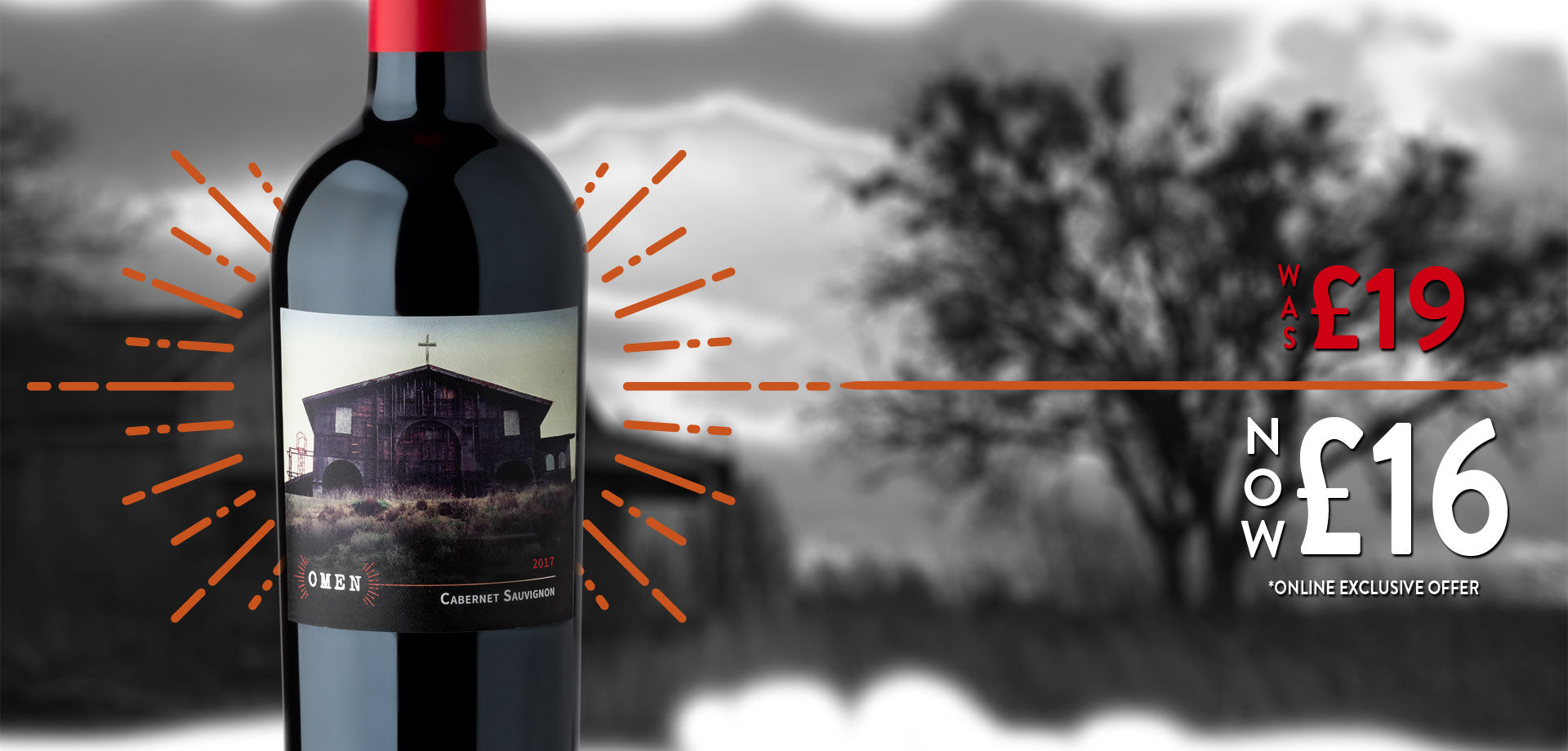 Omen Cabernet Sauvignon Online Exclusive Offer