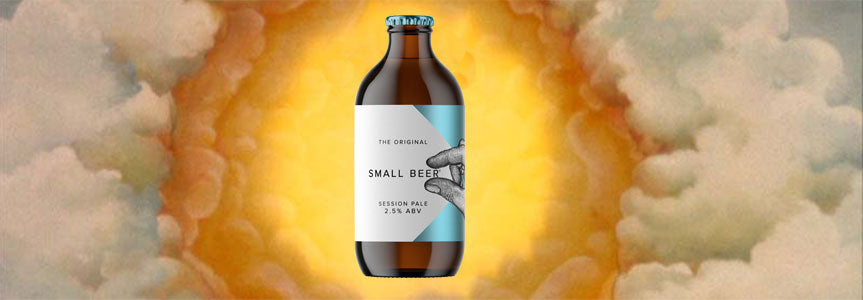 Small Beer Session IPA appears in reference to Monty Python's The Holy Grail