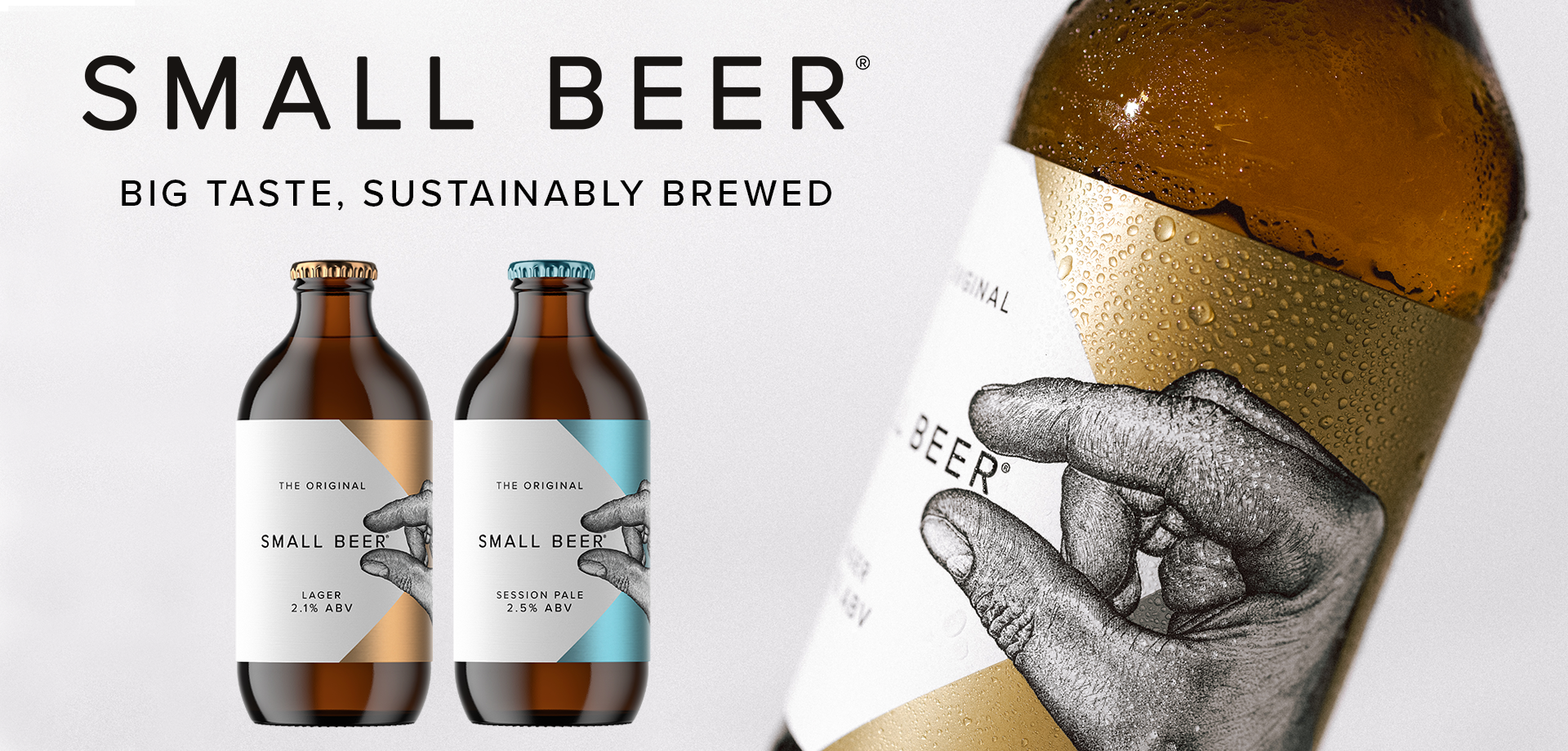 Low Alcohol Craft Beer from Small Beer Co.